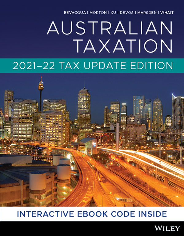 Bevacqua Australian Taxation 1st Edition Updated Cover
