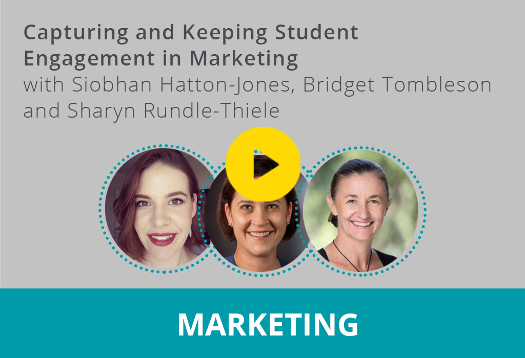 Capturing and Keeping Student Engagement in Marketing