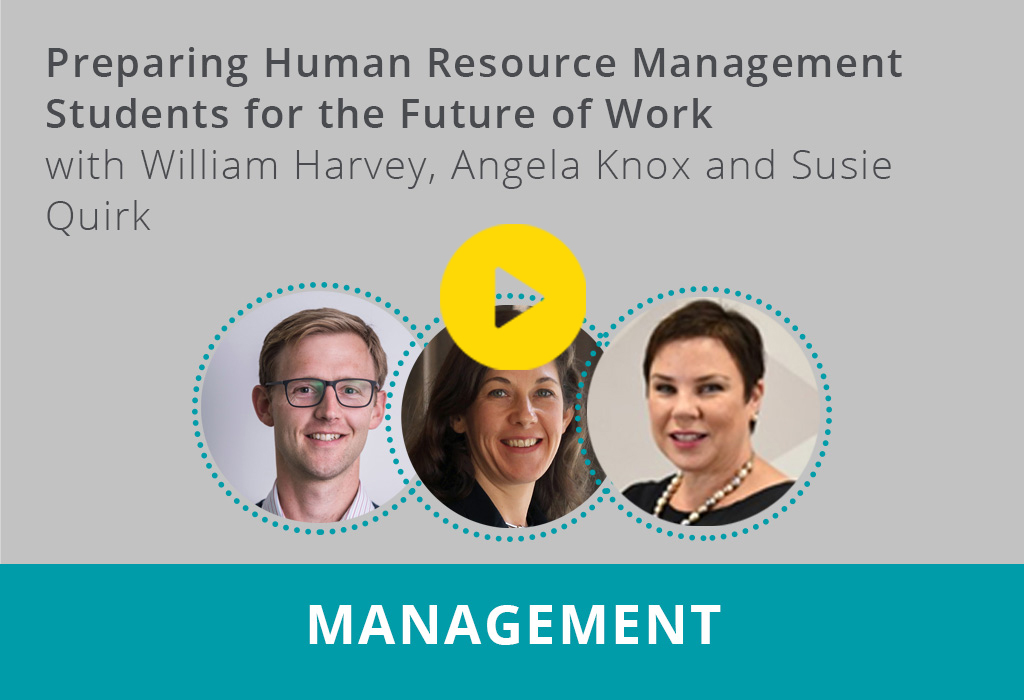 Preparing Human Resource Management Students for the Future of Work