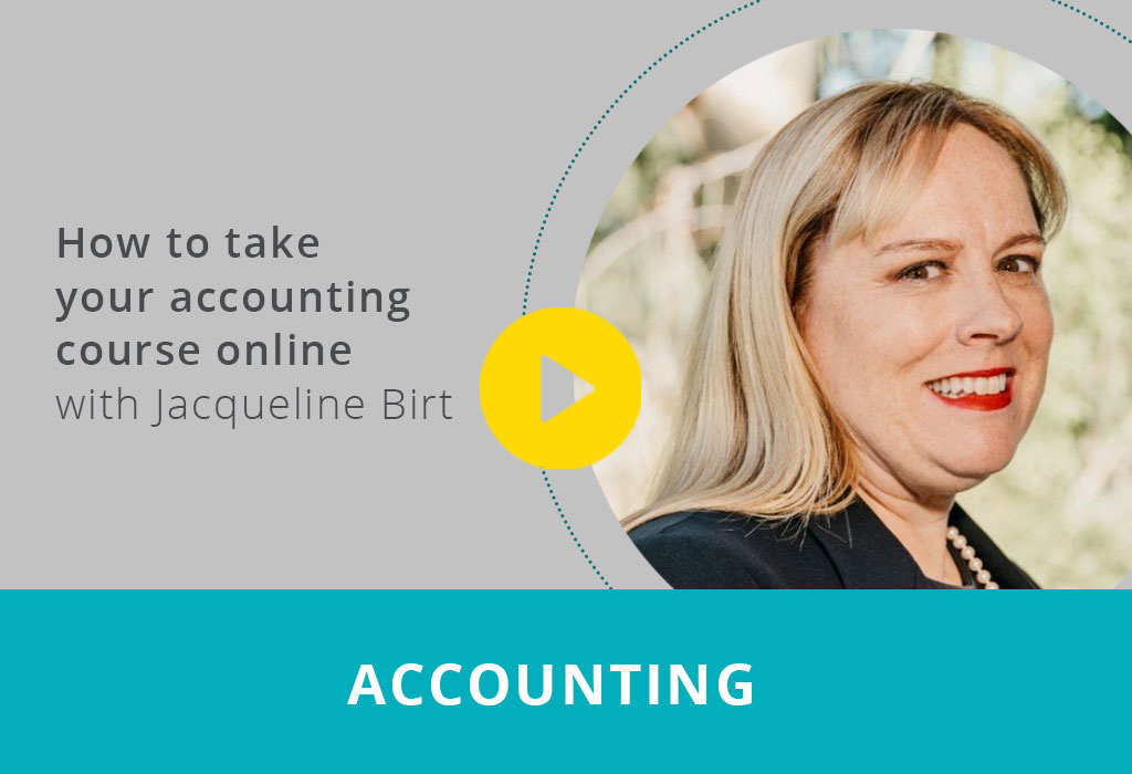 How to take your accounting course online webinar thumbnail