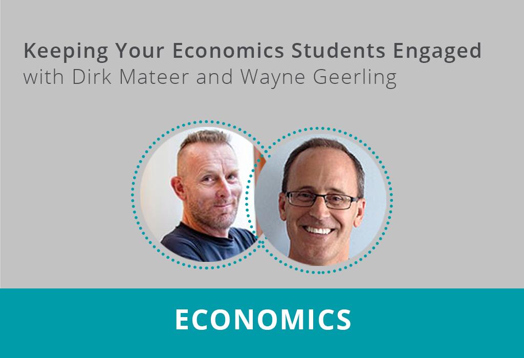 Keeping Economics Students Engaged Recording Thumbnail
